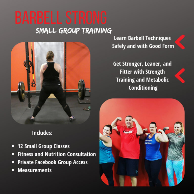 Barbell Strong-The Strength Collective Galesburg