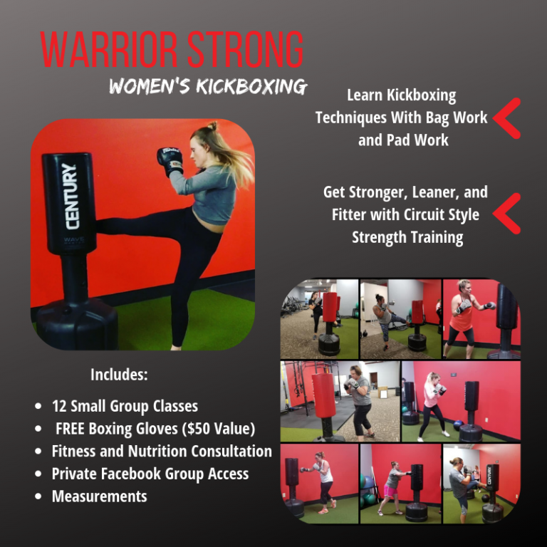 Warrior Strong Women's Kickboxing