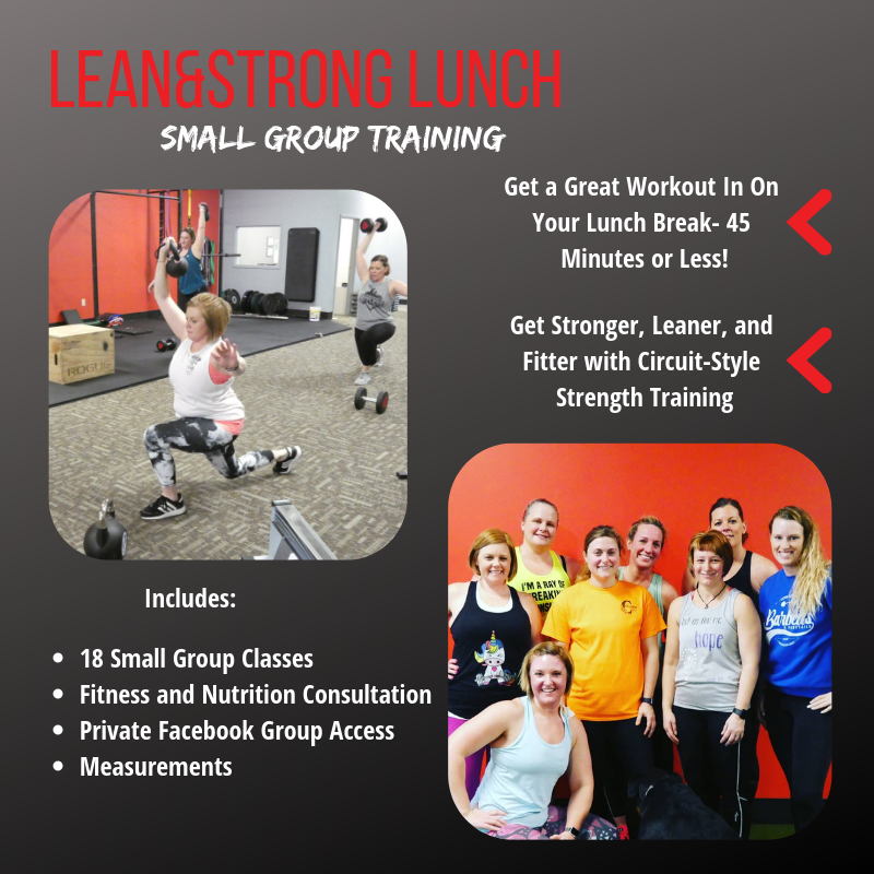Lean&Strong Lunch-The Strength Collective Galesburg