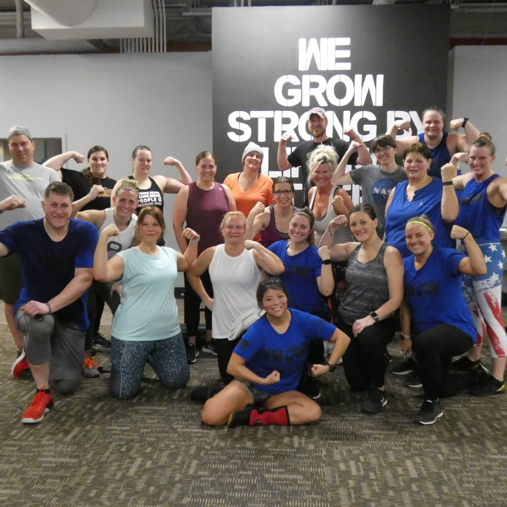 The Strength Collective Galesburg 22 WOD Fundraiser Workout